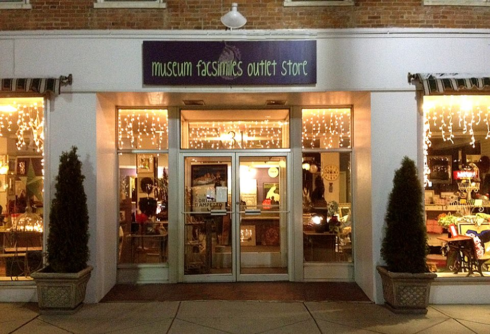 Books, Cards & Gifts, Museum Facsimiles Outlet Store