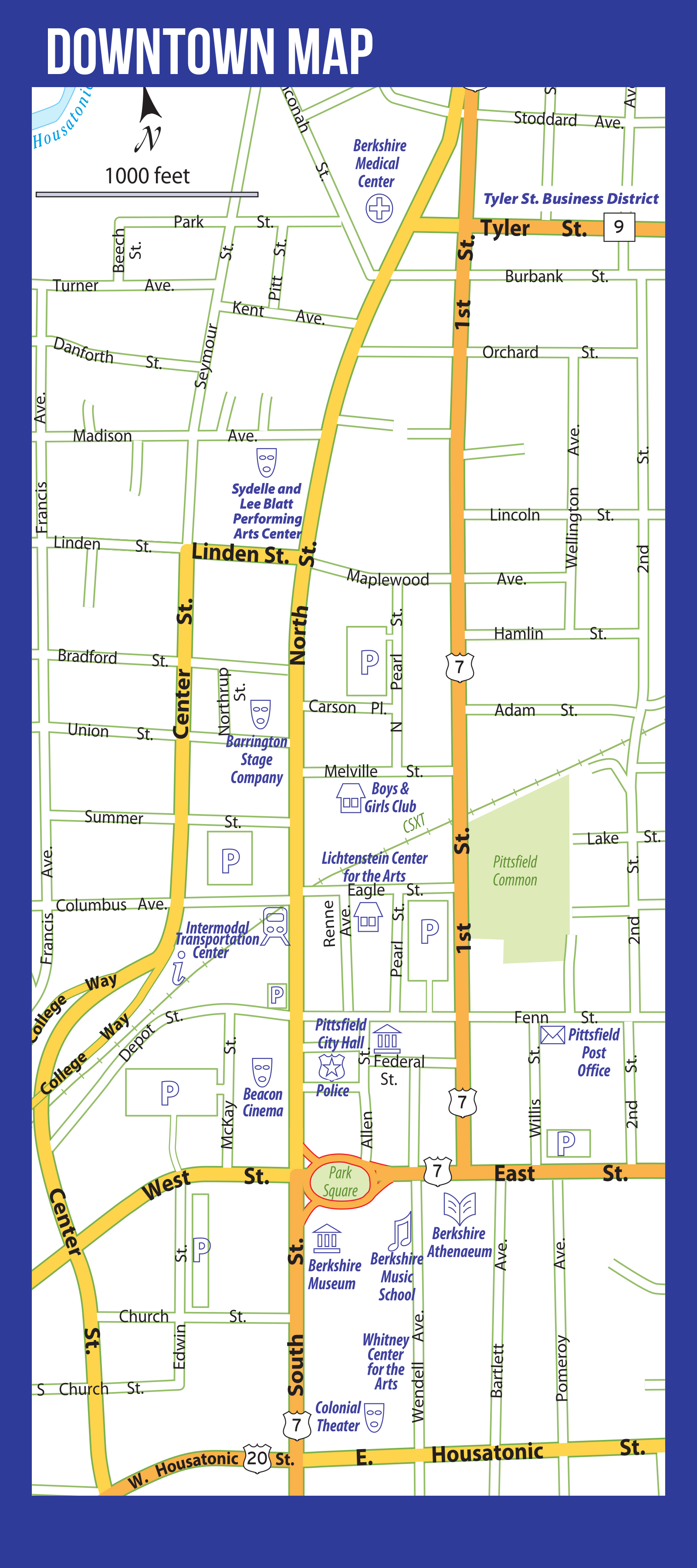 Downtown_Pittsfield_Map – Downtown Pittsfield Western Machusetts on
