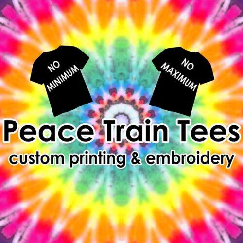 peace train tees logo