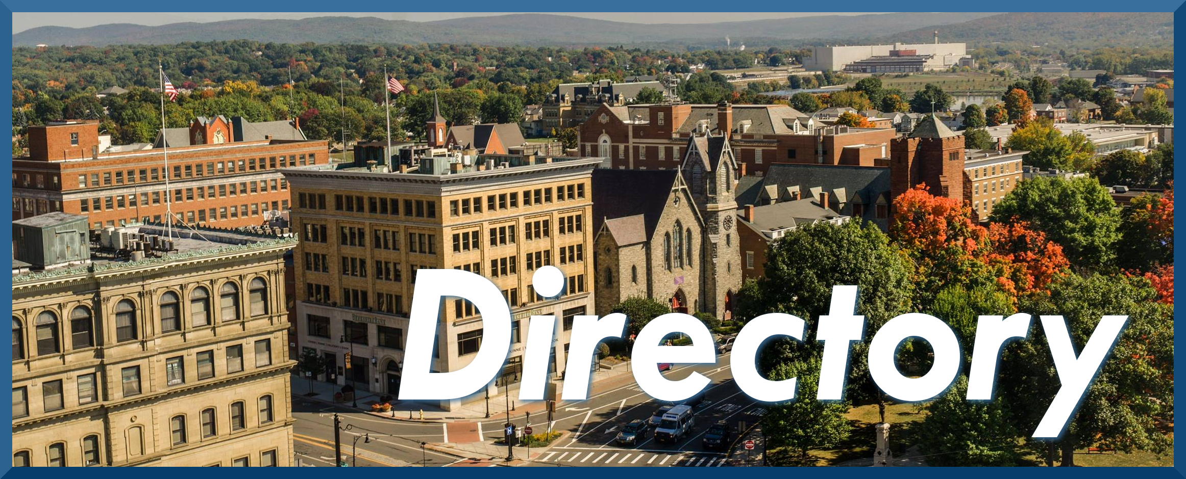 Downtown Pittsfield MA Directory