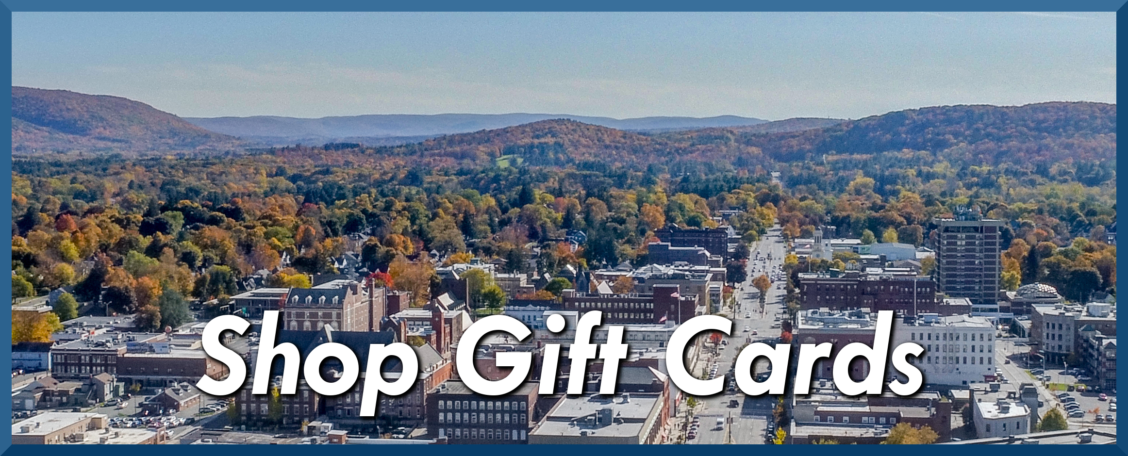 Downtown Pittsfield Gift Card Store