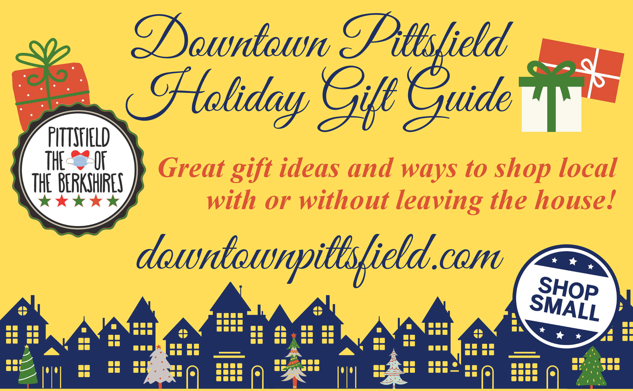 Downtown Pittsfield Holiday Gift Guide Pittsfield MA DPI