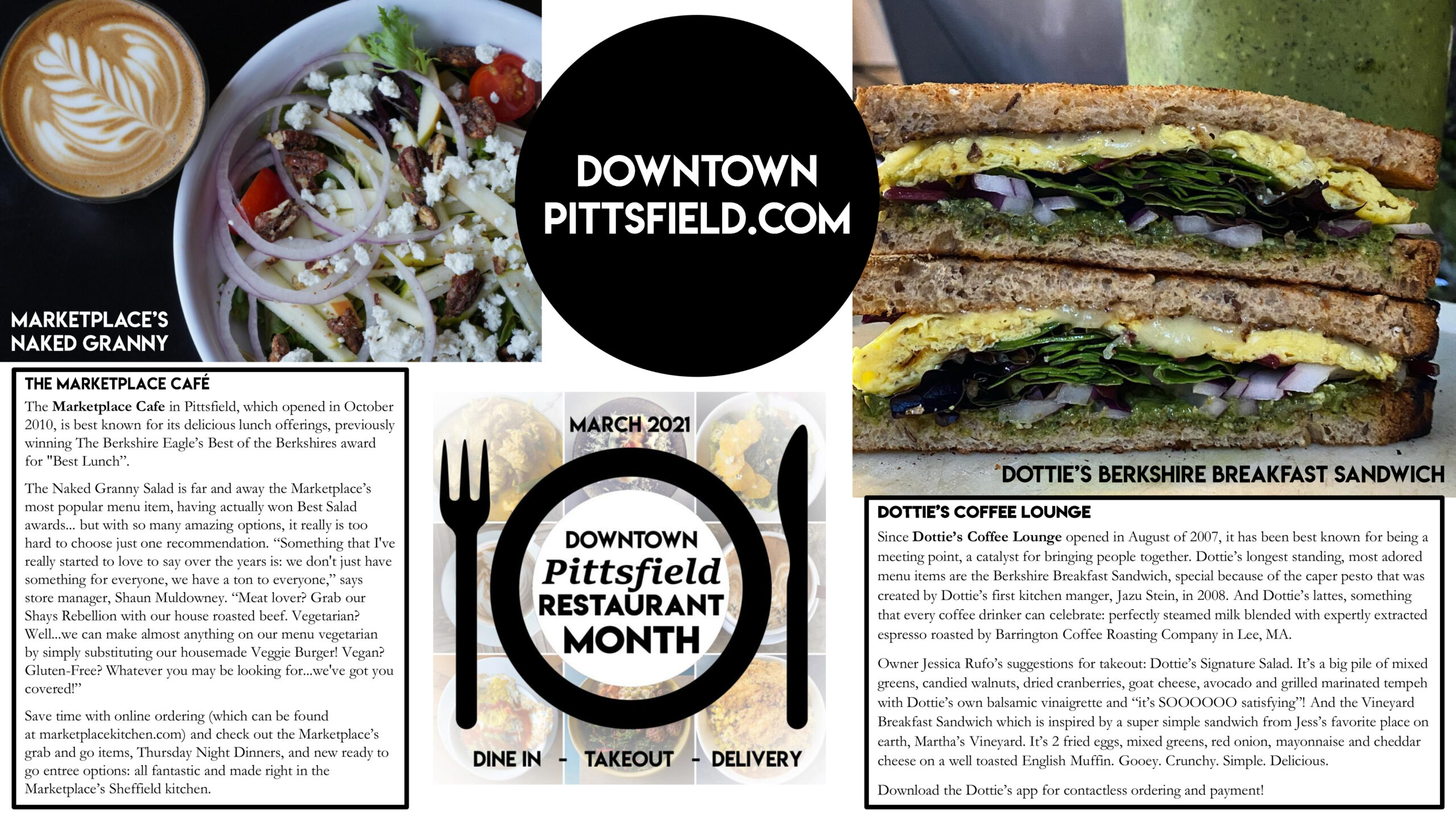 Downtown Pittsfield Restaurant Month