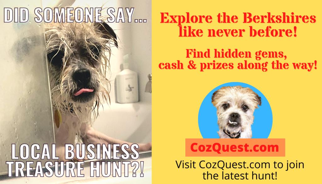 CozQuest Treasure Hunts in downtown Pittsfield.