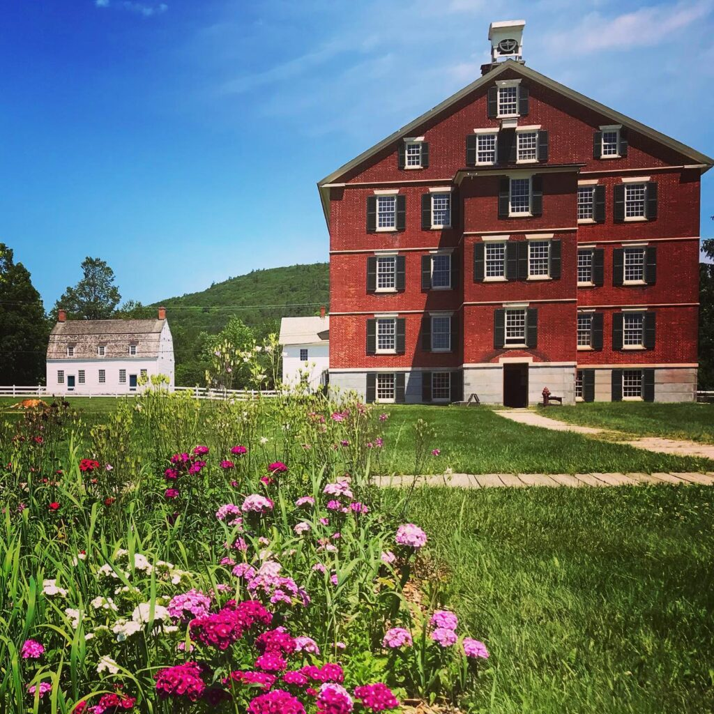 Hancock Shaker Village is open daily from 11 am to 5 pm.
